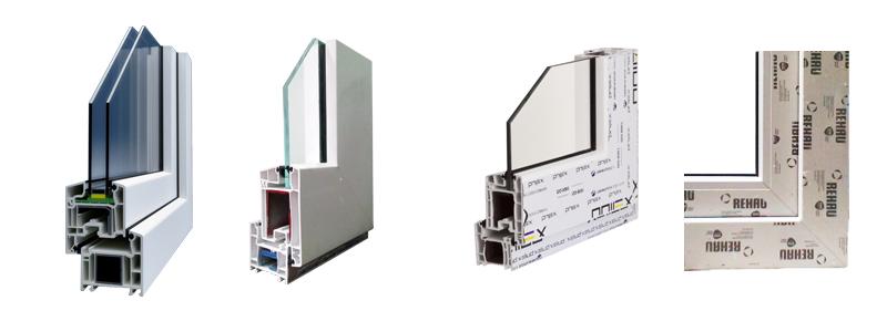 Sự khác nhau giữa các loại thanh nhựa uPVC nên giá cửa nhựa lõi thép cũng khác nhau