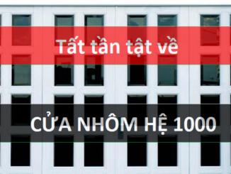 Cửa nhôm hệ 1000
