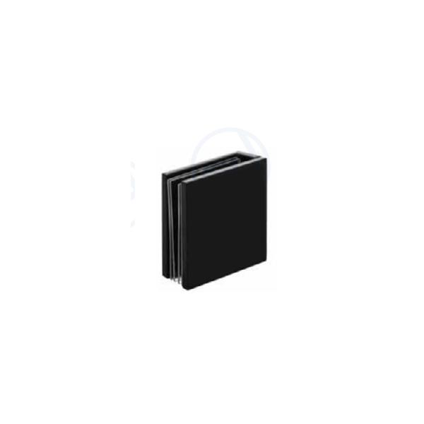 Pát U tường kính 45mm VPP màu đen