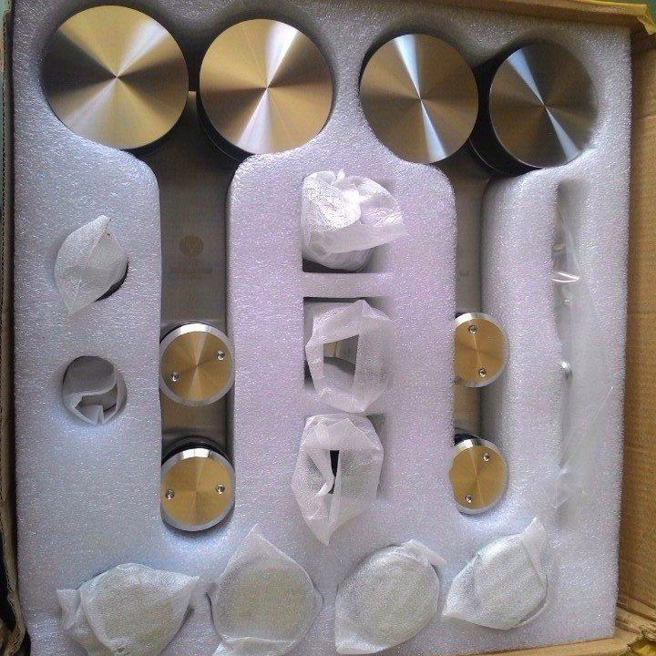 Bộ phụ kiện kính lùa đôi phi 25 VVP trắng bóng