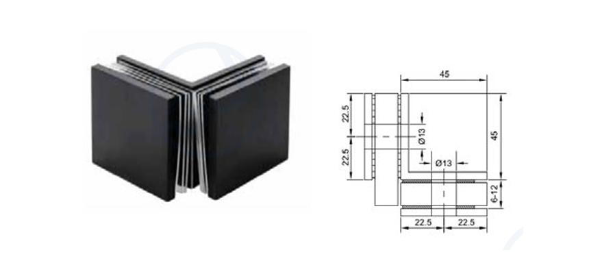 Thông số kỹ thuật pát kính kính 90 độ VPP màu đen